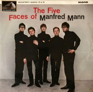 Manfred Mann ‎- The Five Faces Of Manfred Mann  (LP) (G++/F++)